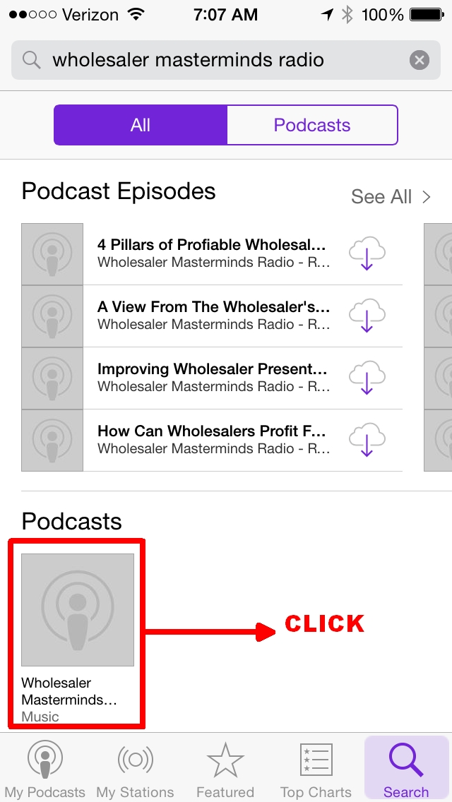 How to select the Wholesaler Masterminds Radio podcast